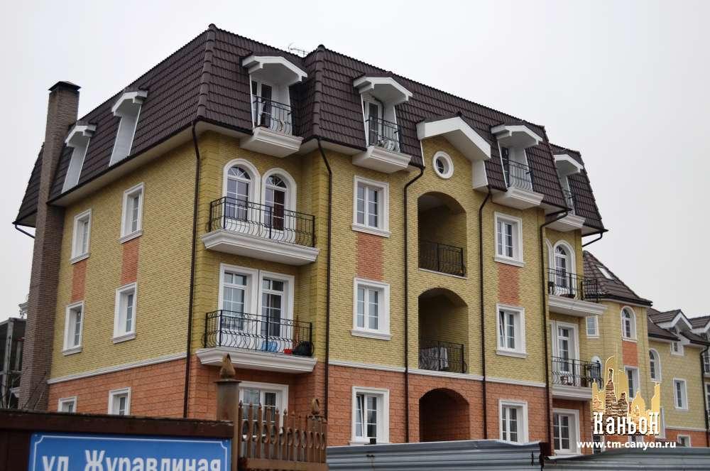мансардный этаж многоквартирного жилого дома фото жизненном